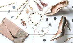 stylizacje świąteczne, moda damska, szpilki, czółenka, błyszczące dodatki, kopertówka, zegarek Lace Up, Flats, Shoes, Fashion, Loafers & Slip Ons, Moda, Zapatos, Shoes Outlet, Fashion Styles