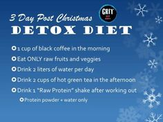 3 days after Christmas DETOX diet – Get Fit! Fitness Workouts, Fitness Diet, Health Fitness, How To Stay Healthy, Healthy Life, Healthy Living, Healthy Detox, Healthy Foods, Superfood