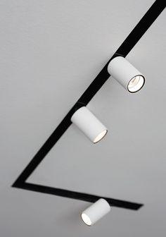 Bilderesultat for deltalight retail lighting hanging tracks