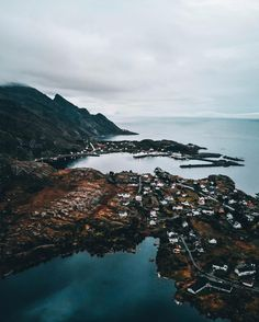 Couple of nice pictures from Lofoten in last fall. That place is so beautiful and great. Visit Norway, Lofoten, Our Planet, Cool Pictures, Shots, Earth, River, Mood, Island