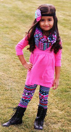 The Charlotte Boutique Outfit 3pc Set- TUTTI FRUTTI AZTEC #new