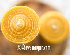 beeswax candle hemp