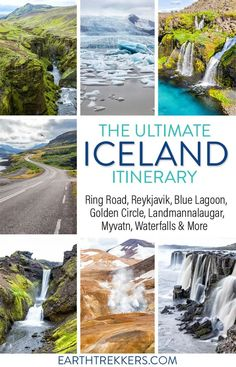 14 day Iceland Itinerary: how to spend two weeks in Iceland. This detailed itinerary includes the Ring Road, Golden Circle, Reykjavik, Landmannalaugar, and much more. #iceland #itinerary #ringroad #roadtrip
