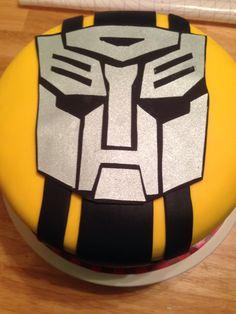 Transformers Cake!! #autobot #bumblebee #transformers