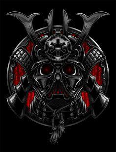 Samurai Vader on Behance