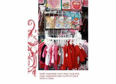 Valentine's outfits! Find any holiday outfit for all sizes at Once Upon a Child Lafayette,IN