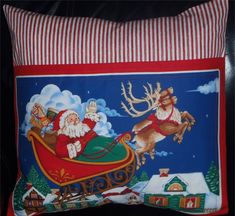 Christmas Countdown, Christmas Elf, Santa Sleigh, Little Ones, Color Schemes, Special Occasion, Cushions, Pictures, Painting