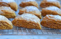 Pumpkin Scones with Spiced Pumpkin Glaze - Once Upon a Chef
