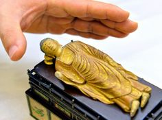 Mediaeval Buddha statue from Japan has a hidden heart of pure crystal