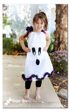 Dollar Store Crafts » Blog Archive » Tutorial: Ghost Pillowcase Dress Costume