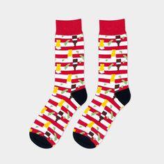 New Arrival Winter Autumn Spring Summer Men Colored Striped Cotton Socks Art Jacquard Socks Hit Color Long Dot Happy Socks Plaid Fashion, Fashion Socks, Mens Fashion, Patterned Socks, Striped Socks, Baskets, Wedding Socks, Colorful Socks, Happy Socks