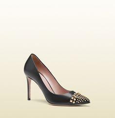 Gucci - studded leather pump 353722C9D001000