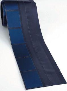 UNI-SOLAR SHR17 17W Flexible Thin Film BIPV Solar Roofing $55 Shingle