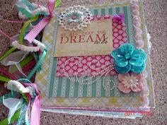 Scrapbooking by Phyllis: Dream Premade 8x8 Scrapbook Bag Album