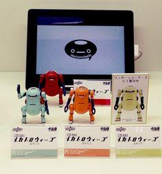 小林和史/モデリズム によるオリジナル企画「メカトロ中部」に登場する、児童用メカトロボット「メカトロウィーゴ」。 (株)千値練から完成品アクションフィギュアとして2014年11月30日発売予定。