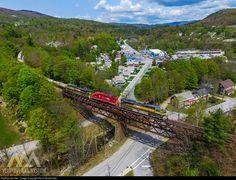 RailPictures.Net Photo: VTR 432 201 431 Vermont Rail System EMD SD70M-2 at Ludlow, Vermont by Kevin Burkholder