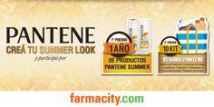 Farmacity.com - Completá tus datos y participá por un año gratis de productos Pantene Summer
