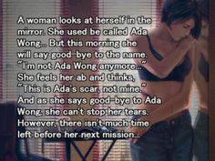 Ada Wong epilog at the end of Resident Evil 3 Nemesis