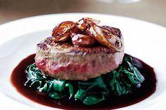 Solomillo al vino tinto #recetas #gastronomía