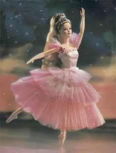 ahhh! you know you're a dancer if it's driving you crazy that Barbie's arabeque is turned in and her foot is sickled...