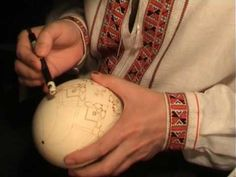 One of mt FAVORITE VIDEOS!! About a well known pysanky artist.  He is most masterful.  I wish I could watch him in person.