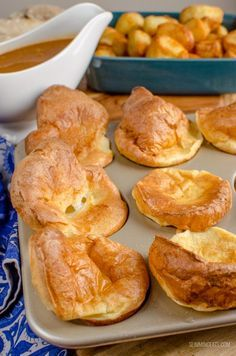 Slimming Eats 1 Syn Yorkshire Puddings - dairy free, vegetarian, Slimming World and Weight Watchers friendly