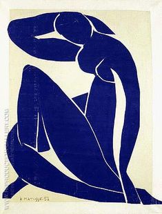Blue Nude II 1952 By Henri Matisse. Reproduction Gallery