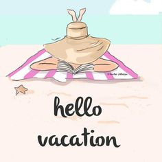 Hello #vacation - for those of you going on vacation ☀️ already on vacation ☀️…