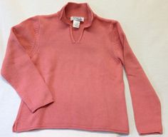 Nantucket Red Collection Ladies Johnny Collar Sweater