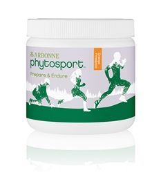 """Maintaining endurance and energy is crucial to supporting peak physical performance. Prepare & Endure delivers carbohydrates, D-ribose and L-carnitine to support energy and help prevent the """"crash"""" when you don't have the fuel you need. Key amino acids support nitric oxide production to help deliver oxygen to muscles and maintain healthy blood flow for optimum performance. Arbonne PhytoSport Blend delivers antioxidant botanicals to help fight oxidation that occurs during exercise. BSCG"""