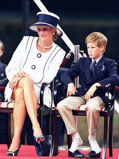 Princess Diana with Prince Harry