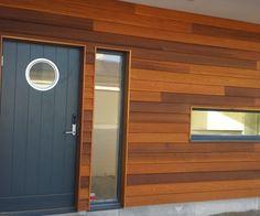 Rostfria räcken, fasader & staket - Cederträ:väst