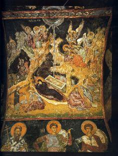Natividad del Señor. Siglo XIII. Anónimo Bizantino.