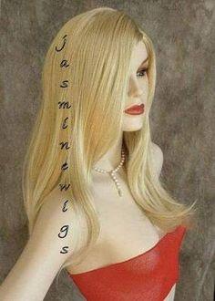 Long Straight 2 Tone Blonde Wig Wigs 24BT102 NEW SEXY | eBay