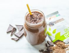 If the chocolate craving hits you, whip up a chocolate smoothie. No need to feel guilty when you're packing in protein, greens, vitamins, minerals and more!