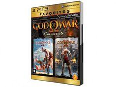 God of War Collection para PS3 - Coleção Favoritos - Sony com as melhores condições você encontra no Magazine Jbtekinformatica. Confira!