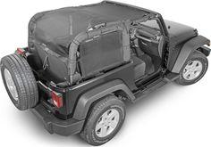 SpiderWebShade JK2D ShadeCage for 07-16 Jeep® Wrangler JK 2 Door | Quadratec