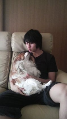 this is so precious!!! Yamada Yuuki 1 year ago, when his hair still short and nothing like the fabulous Joe Gibken cuteeee~~~