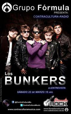 Los Bunkers, en  Formula Rock
