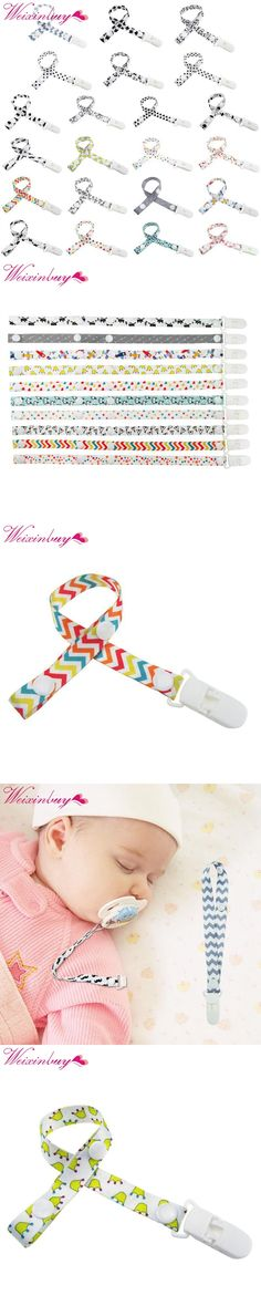 2017 Children Pacifier Clips Soother Holder Baby Pacifier Dummy Clip Nipple Holder For Nipples Chupetas Popular Clip Chain