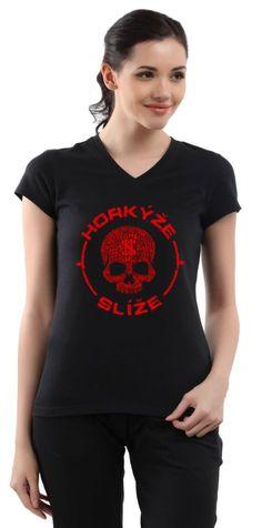 Dámske tričko Horkýže Slíže - Lebka
