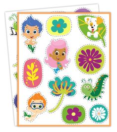 Bubble Guppies Springtime Stickers Collection