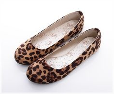 BN Womens Ballet FLATS BALLERINAS Casual Work Shoes Classic Leopard Prints   eBay $16.99 Casual Work Shoes, Fab Shoes, Me Too Shoes, Animal Print Flats, Oxford Flats, Ballet Flats, Leopard Prints, Ballerinas, My Style