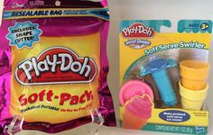 Play-Doh Sweet Shoppe Soft Serve Swirler With Bonus Play-Doh Soft-Pack Includes Shape Cutter (8 Oz.)