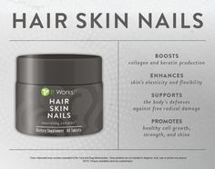 HAIR, SKIN, AND NAILS ( IT WORKS!) #itworks