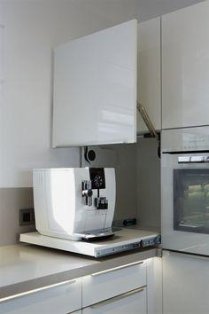 ✔ 44 best small kitchen design ideas for your tiny space 22 - Kitchen renovation - Modern Kitchen Design, Interior Design Kitchen, Room Interior, Kitchen Designs, Coastal Interior, Interior Decorating, Kitchen Organization, Kitchen Storage, Corner Storage