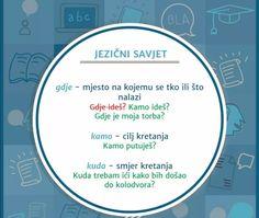 Croatian Language, Classroom Management, Chart