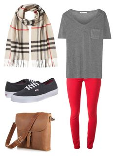 """""""Good days"""" by shayela-pottle on Polyvore featuring Burberry, Vans and T By Alexander Wang"""