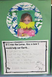Earth Day Lorax Craftivity Freebie