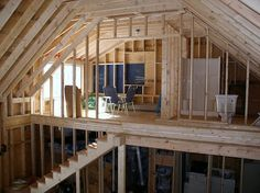 Construction: bathroom and bedroom loft with dormer window